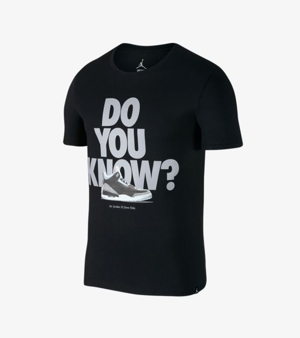 JORDAN AJ3 DO YOU KNOW TEE