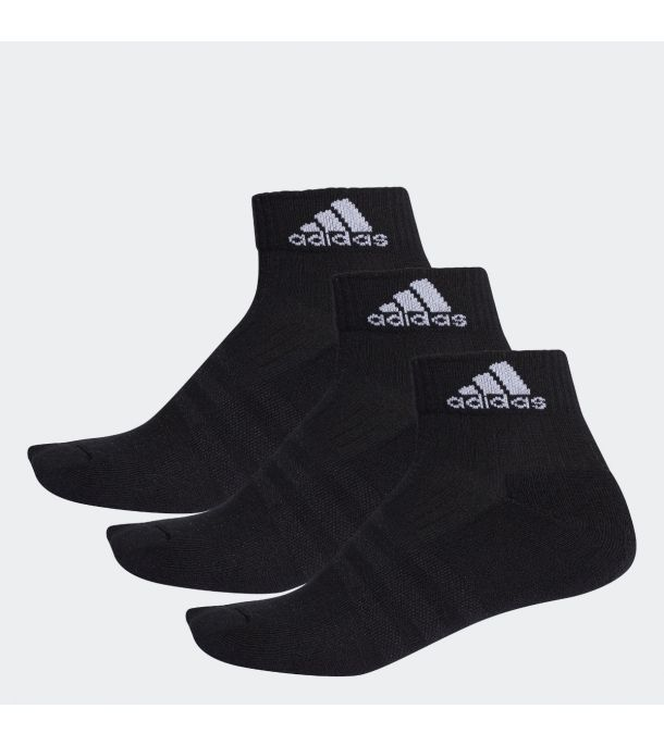 3PACK QUARTER SOCKS BLACK
