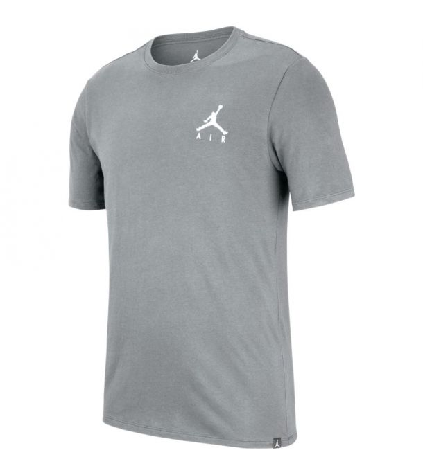 JUMPMAN EMBROIDERED TEE CARBON