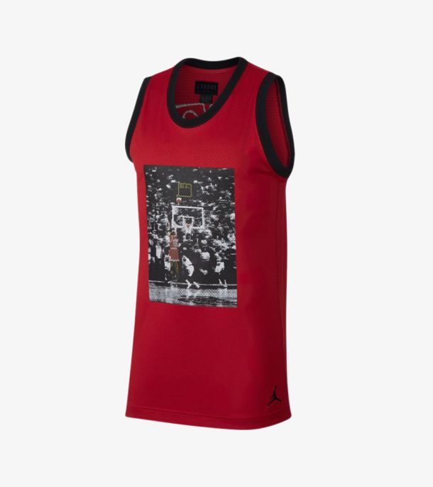 LAST SHOT MESH JERSEY RED
