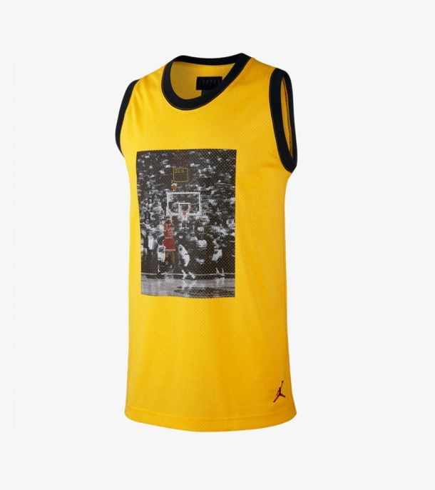 LAST SHOT MESH JERSEY YELLOW