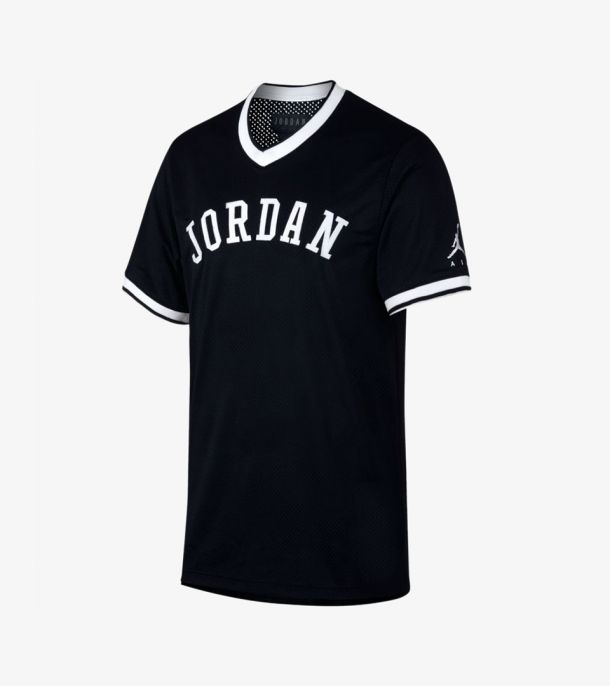 JUMPMAN AIR MESH JERSEY BLACK