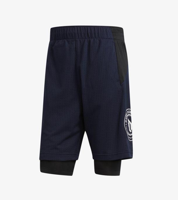 DAME 2IN1 SHORT OBSIDIAN