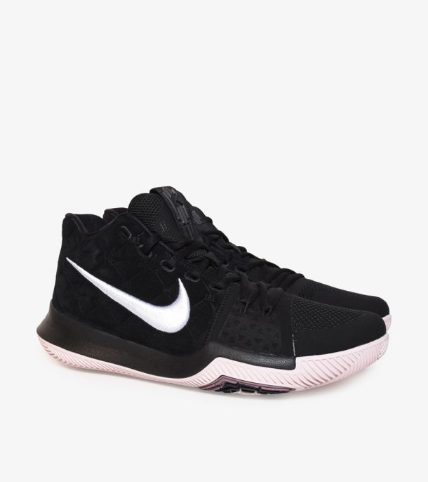 KYRIE 3 BLACK/SILT RED