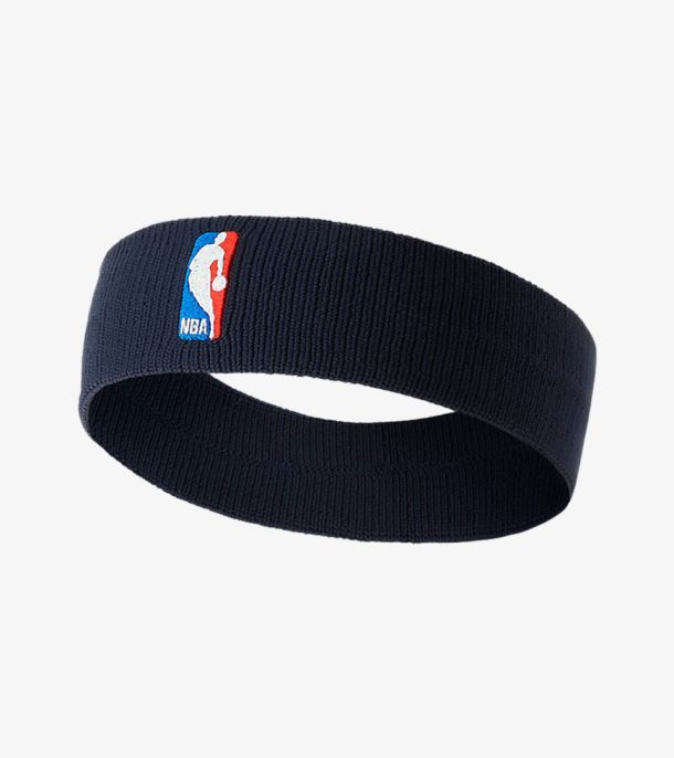 NBA HEADBAND COLLEGE  NAVY