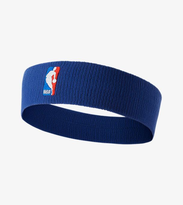 NBA HEADBAND ROYAL BLUE