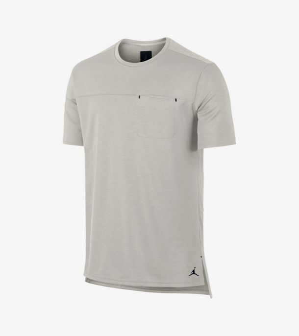 23 LUX  POCKET TEE LIGHT BONE
