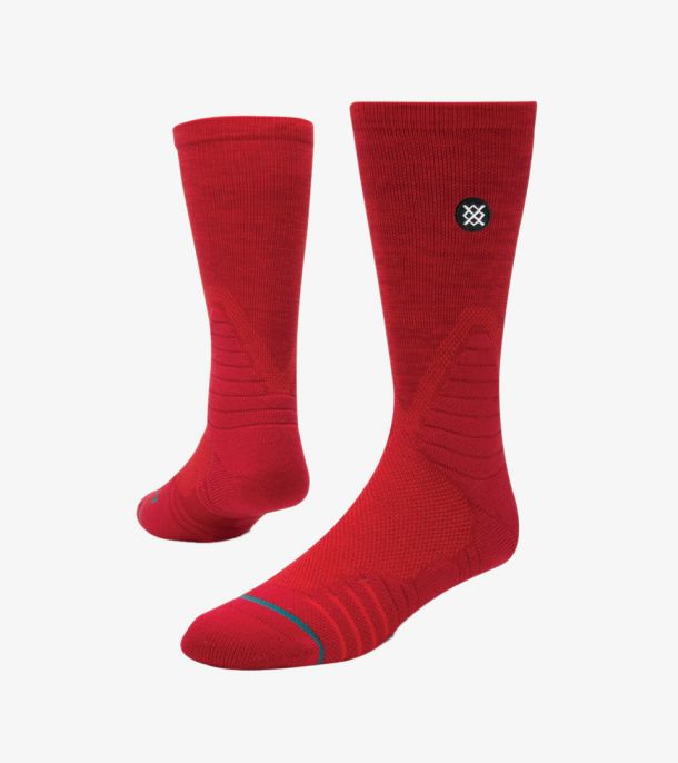 GAMEDAY TWIST RED SOCKS