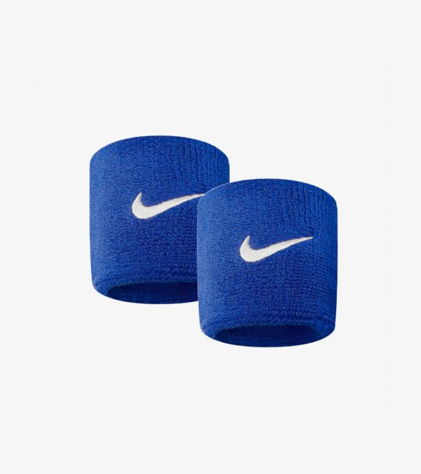 SWOOSH WRITBANDS RUSH BLUE