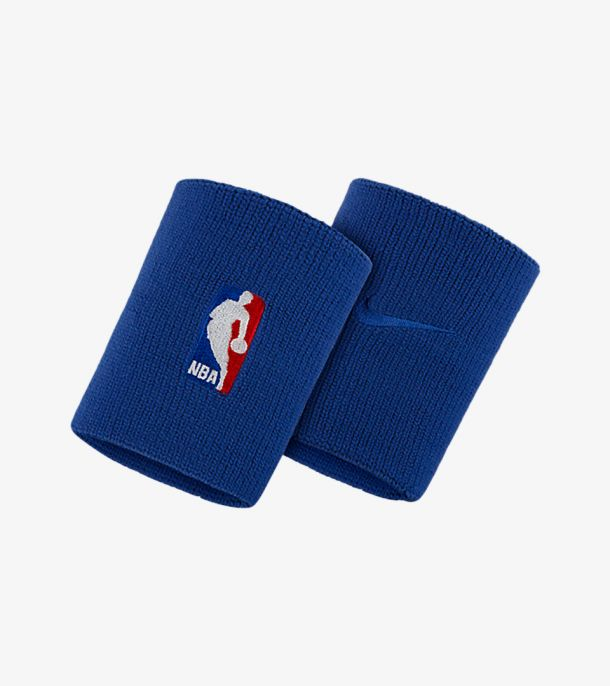 NBA WRISTBAND ROYAL BLUE