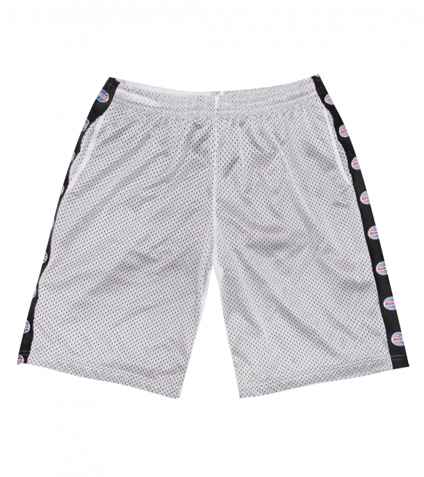 RUN&GUN PERFORATED SHORT GREY