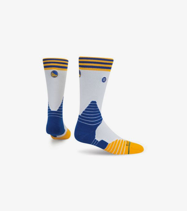 WARRIORS LOGO CREW SOCKS