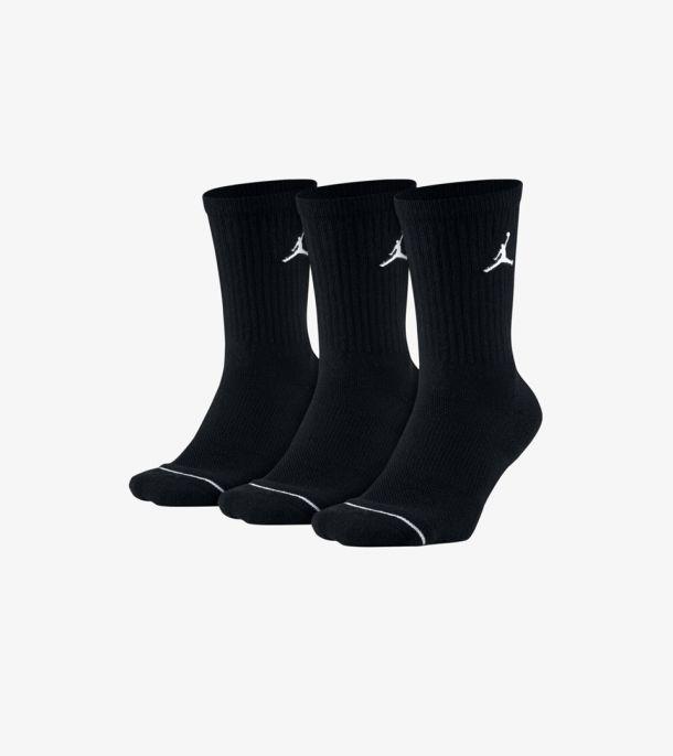 JUMPMAN 3PACK SOCKS BLACK