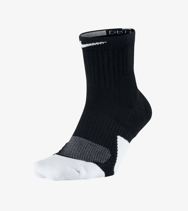 Elite 1.5 Mid Socks black