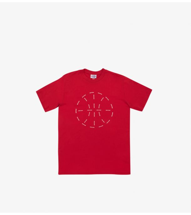 RUN&GUN BALL TEE RED