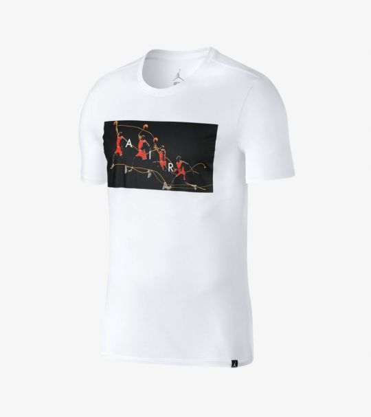 JORDAN FLIGHT PHOTO TEE WHITE