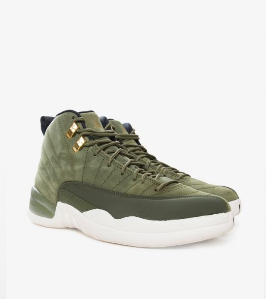 JORDAN XII CP3 OLIVE CANVAS